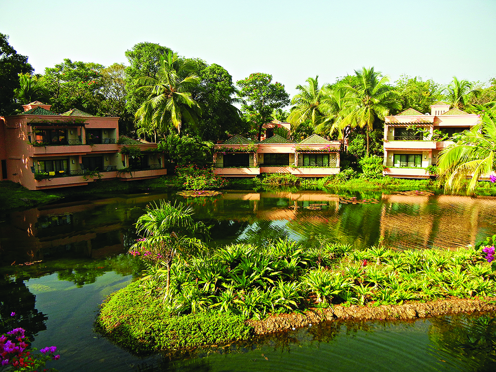 The Leela Hotel in south Goa
