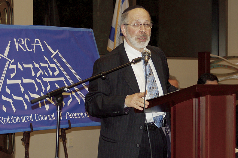 Rabbi Goldin is a past president of the Rabbinical Council of America.