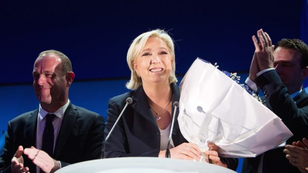 France's National Front leader Marine Le Pen