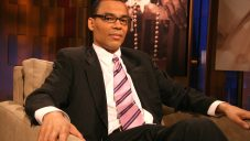 "Thomas Lopez-Pierre on the show ""Meet the Faith"" in BET studios in New York City, 2006. JTA"