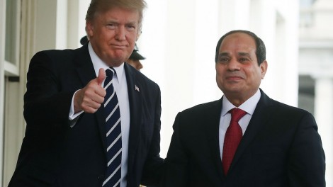 Trump Hosts Egyptian President Abdel Fattah Al Sisi At The White House