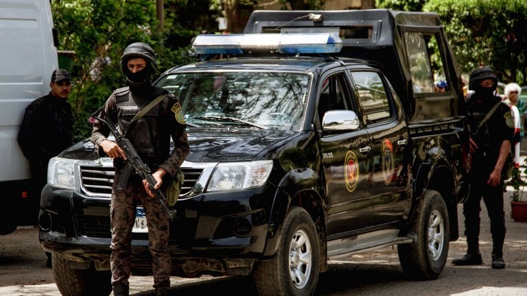 Attack in Cairo kills three policemen, injures five