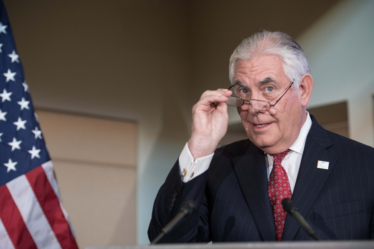 Tillerson: Trump weighs embassy move impact on Mideast peace