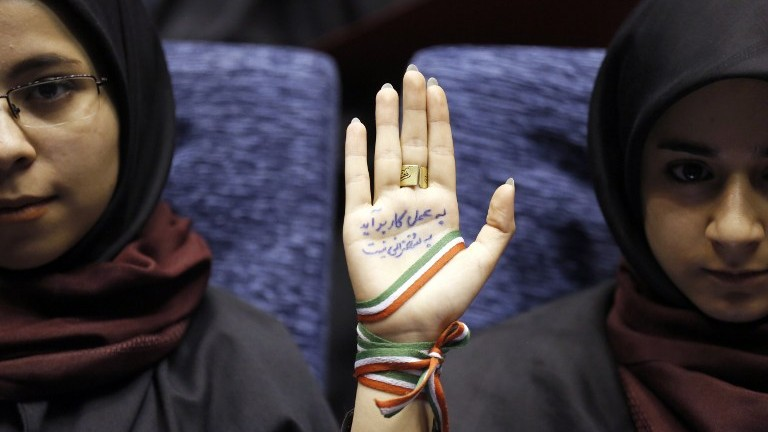 Iran's re-engagement with the world at stake in Friday presidential vote
