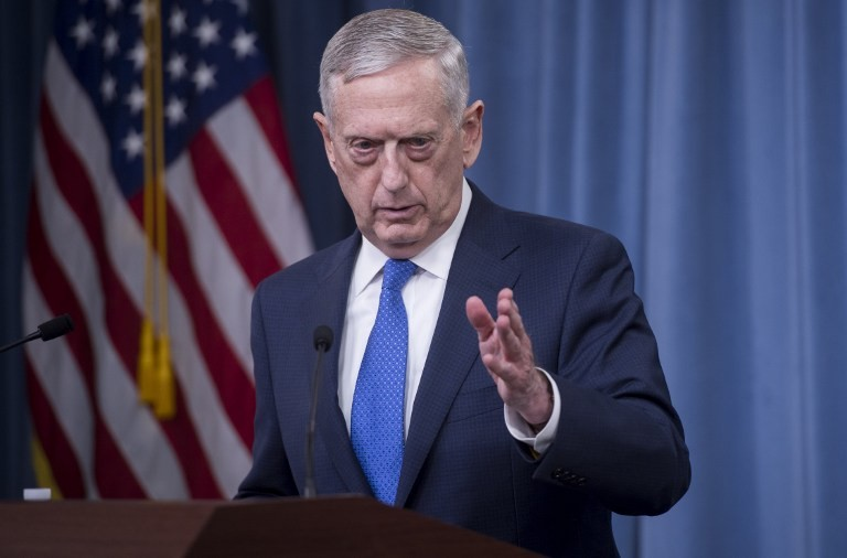 James Mattis: Military solution in place to address North Korea threat