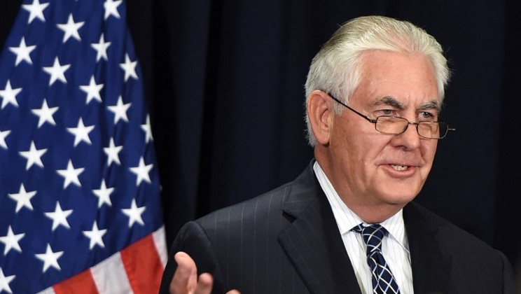 Tillerson will talk to Iran's foreign minister 'at the right time'