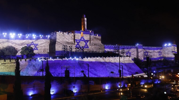Hardline Israelis descend on Old City for Jerusalem Day