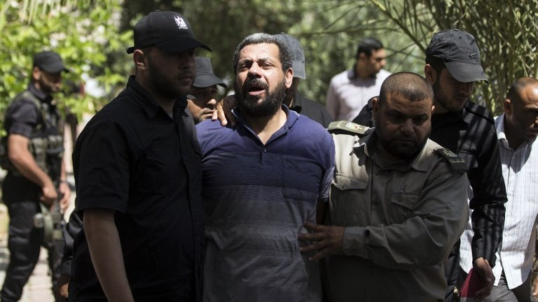 Hamas sentenced three Palestinians to death