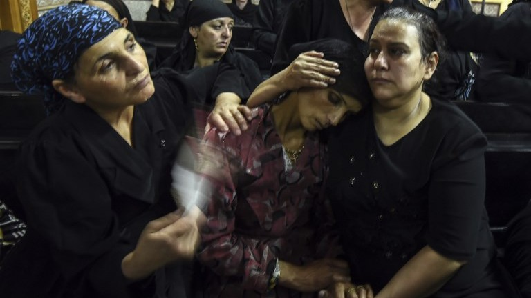 Islamic State claims deadly shooting of Egyptian Christians