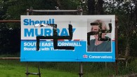 Nazi swastikas have been daubed on the posters of Conservative General Election candidate Sheryll Murray in Cornwall.   Photo credit: Conservative Party/PA Wire