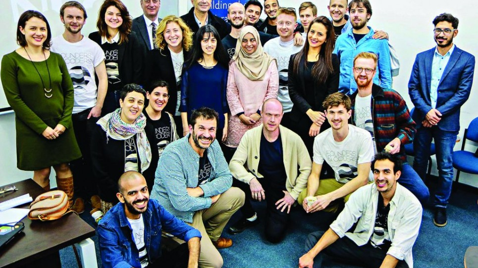 Founders & Coders opened its first international branch in partnership with the UK Israel Tech Hub