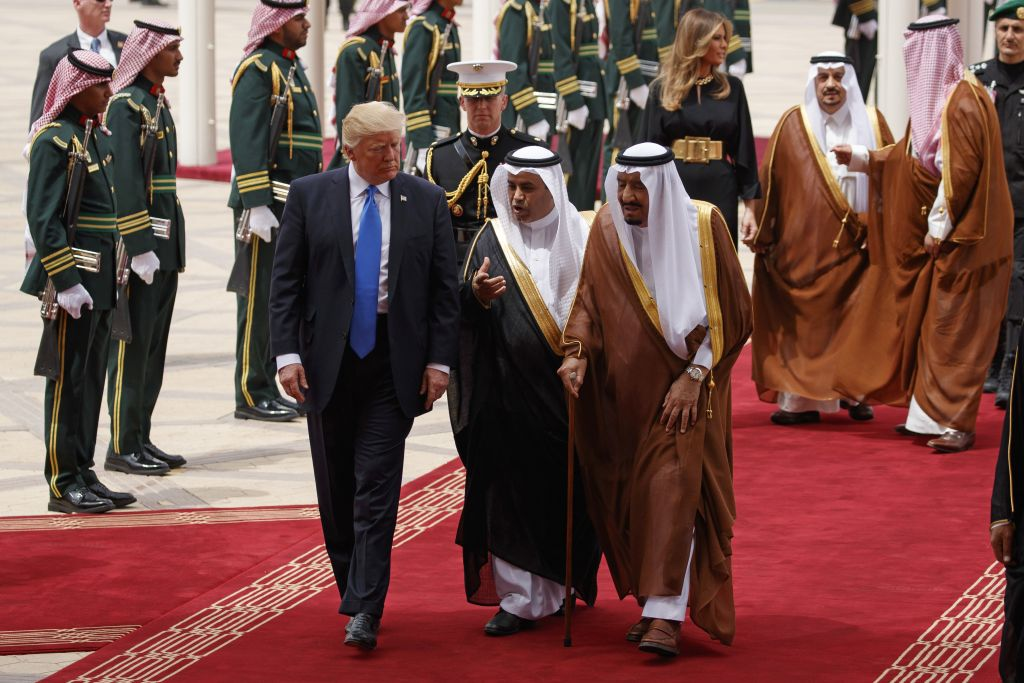 President Trump's Meeting With Saudi Leaders