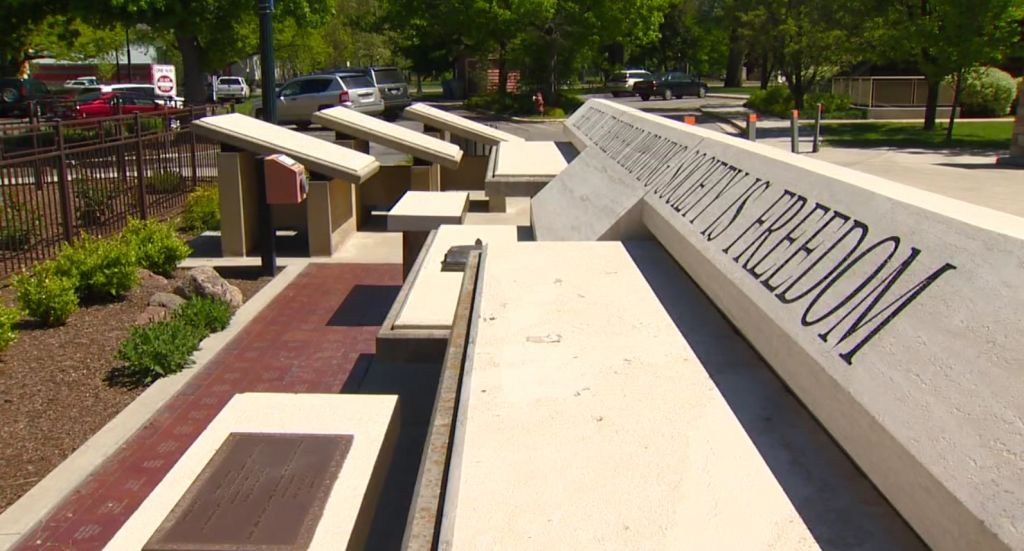 Idaho Anne Frank memorial defaced with racist language