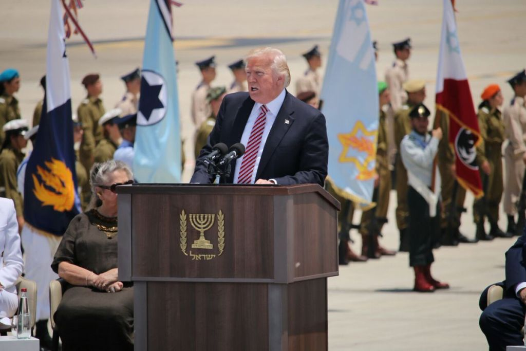 The Thread: Melania curves Trump in Israel