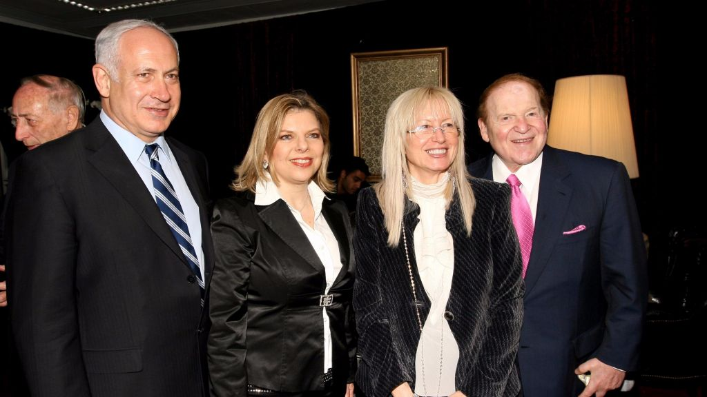 Bibi Corruption Probe: Adelson To Testify Again (This time with Wife)