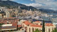A view of Monaco from one of the Eurostars participants. Over 1500 Russian teens participated in an intercultural trip the the waterfront principality. Courtesy of Levi Stiefel
