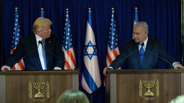 IS-Speeches Donald Trump Benjamin Netanyahu