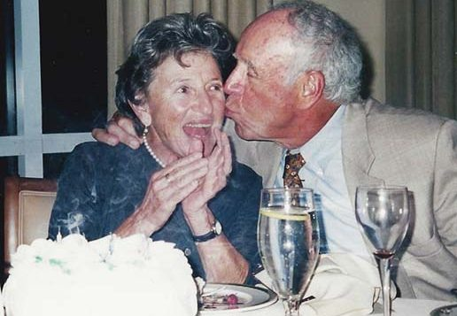 Muriel and Jack Brawarsky. Courtesy