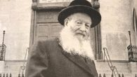 Rabbi Ephraim Oshry, outside Beth Hamedrash Hagadol in NYC's Lower East Side in 1994. Michael Datikash/JW