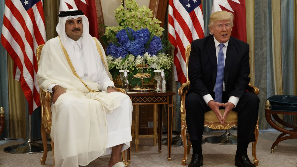 trump says his middle east visit prompted qatar crisis zio watch june 6 2017 david. Black Bedroom Furniture Sets. Home Design Ideas
