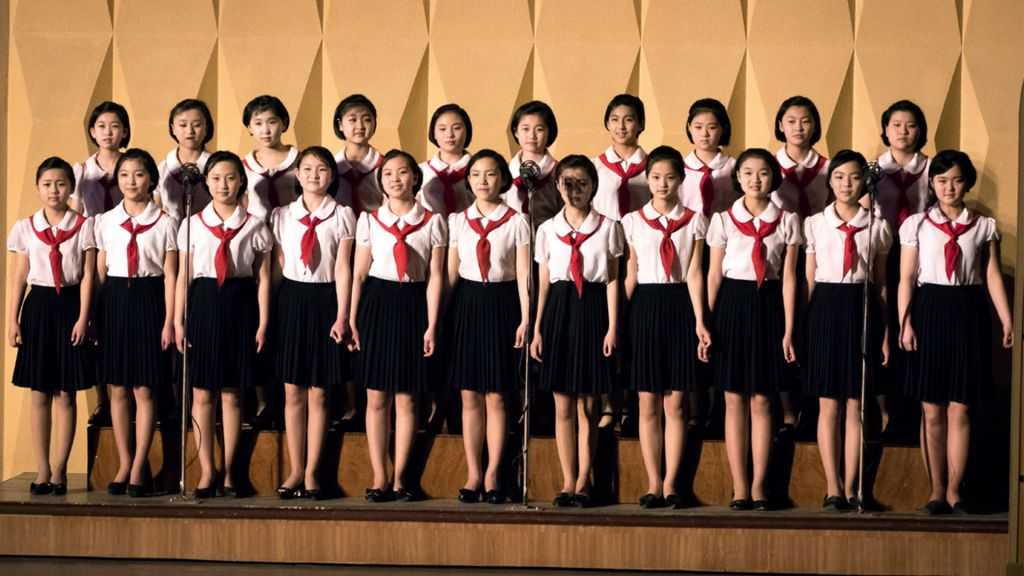 A performance Shai witnessed put on by the North Korean government. (Moshe Shai)