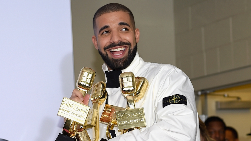 Drake Breaks Record With 13 Honors At Billboard Music