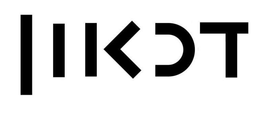 A humorous take on the logo for Kan, the new media company that replaced the IBA, reads 'dikaon,' the Hebrew word for depression (Courtesy Mishmar 88)