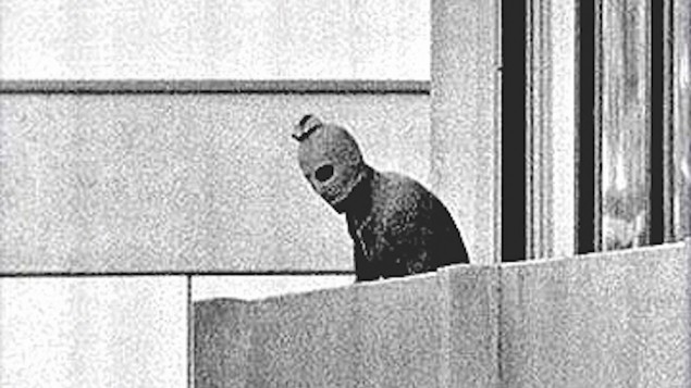 One of the terrorists during the event known as the Munich massacre