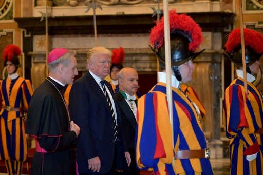 'He Is Something': Trump Visits Pope Francis At The Vatican
