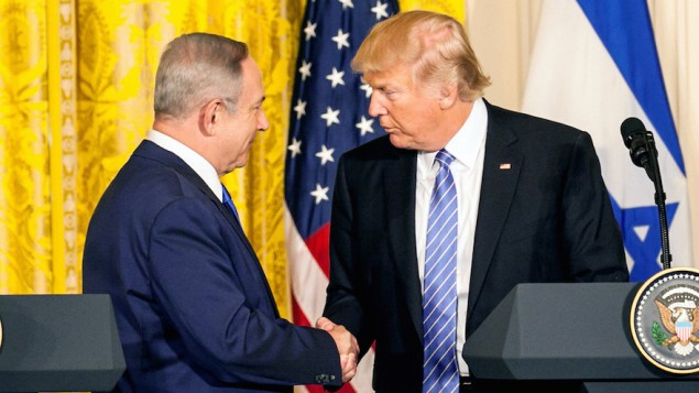 Donald Trump Holds Joint Press Conference With Israeli PM Netanyahu
