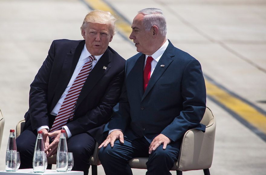 Questions about Russian Federation chase Trump during first Israel visit