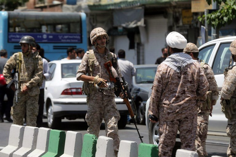 Iran identifies IS assailants in twin attacks