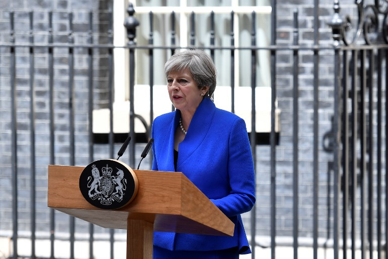 British PM Theresa May to form government after party weakened by election