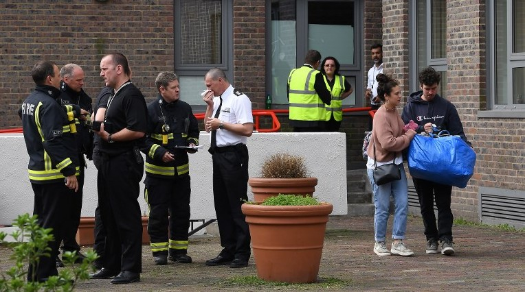 London council evacuates residents amid fire safety concerns