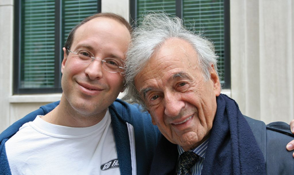 elie wiesel and father relationship with son
