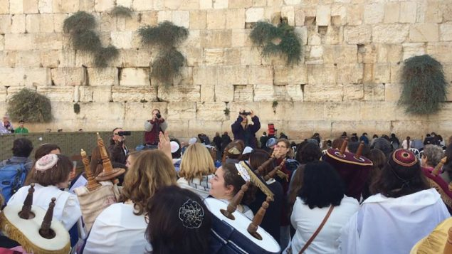 Women of the Wall at a recent service. Israel's reneging on the egalitarian prayer deal could lead to a deep rupture in Israel-diaspora relations. JTA