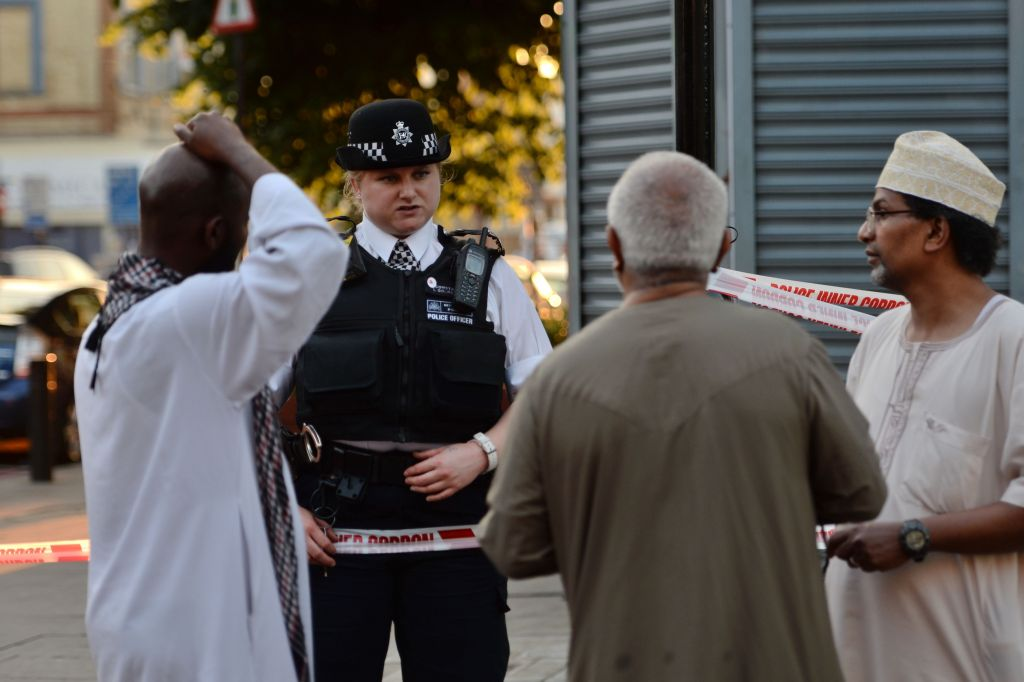 Eyewitness describes aftermath of London mosque attack