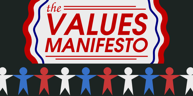 The values manifesto