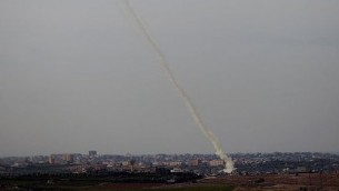 Rocket fired from Gaza
