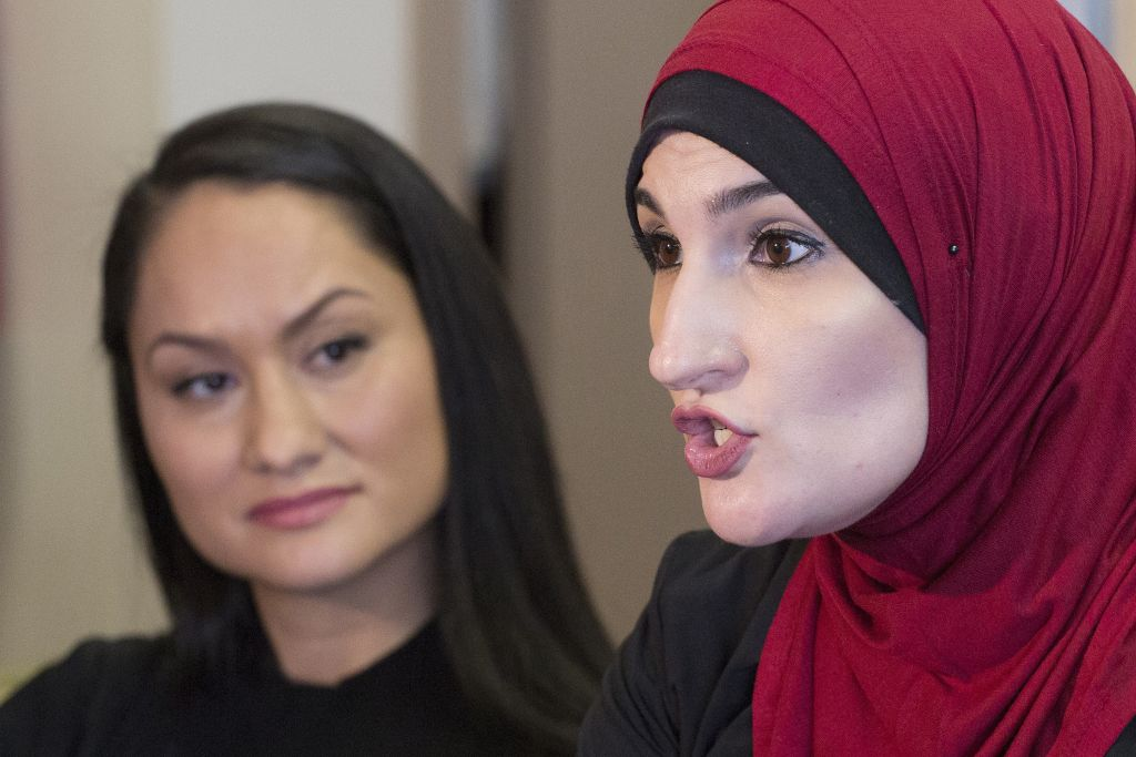 Muslim activist speech at NYC college draws barbs from right class=