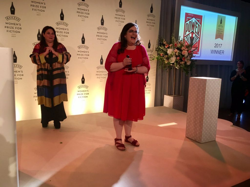 British author Naomi Alderman's The Power wins Baileys Women's Prize for fiction