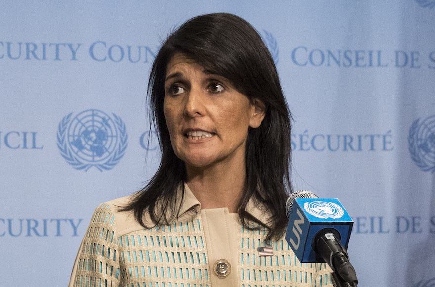 Nikki Haley calls United Nations a 'bully' against Israel during meeting with Netanyahu