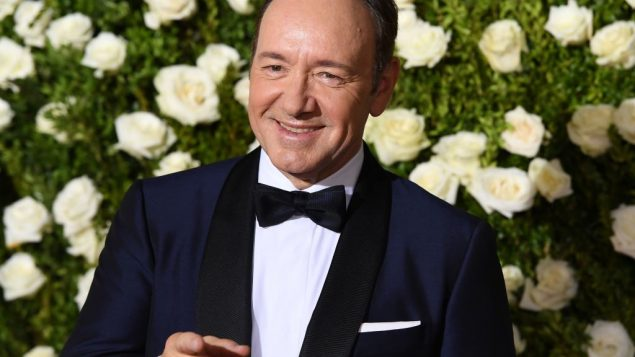 Host Kevin Spacey attends the 2017 Tony Awards - Red Carpet at Radio City Music Hall on June 11, 2017 in New York City. Getty Images