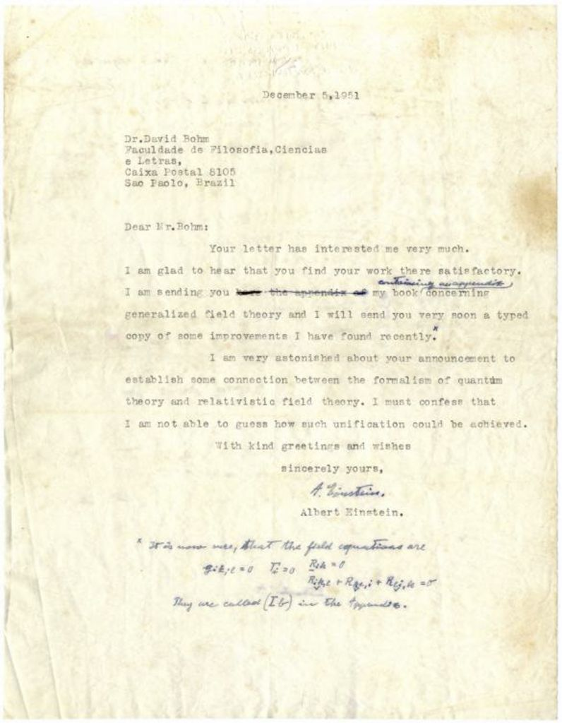 Einstein letters on God, McCarthy, Israel go up for ...