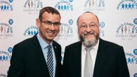 Ambassador Mark Regev and Chief Rabbi Ephraim Mirvis