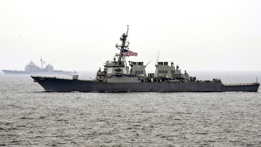 Bodies of missing sailors found in flooded compartments of US destroyer