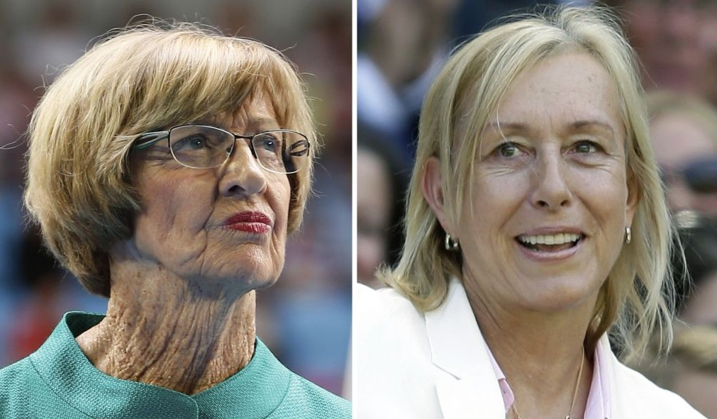 Martina Navratilova says Margaret Court is a