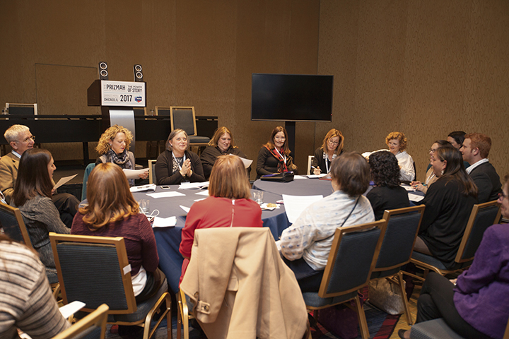 Educators work together at Prizmah's annual conference in Chicago in April