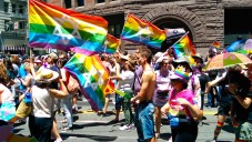 A view of the San Francisco Pride Parade, June 30, 2014. (Wikimedia Commons)