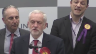 Keith Fraser mouthing the insult at the Labour leader